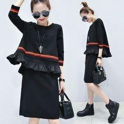 EFO - Mock Two-Piece Dress