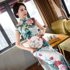 Janelle Qipao - 長款旗袍