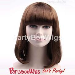 Party Wigs - PartyBobWigs - 派对BOB款中长假发 - 综色