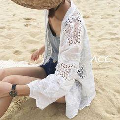 MATO - Lace Cover Top
