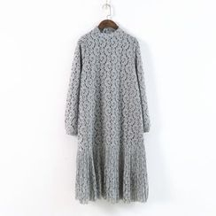 Ranche - Long Sleeve Lace Dress