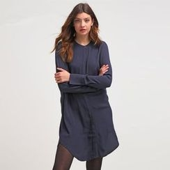 Lovebirds - Long-Sleeve Shirtdress