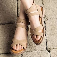 MIAOLV - High Top Strapped Sandals