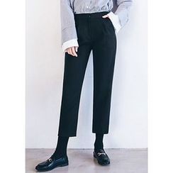 Chlo.D.Manon - High-Waist Tapered Dress Pants