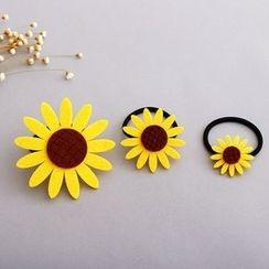 Chapa - Sunflower Hair Tie/Brooch/Hair Clip
