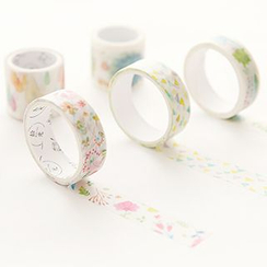 Class 302 - Set of 4: Printed Masking Tape
