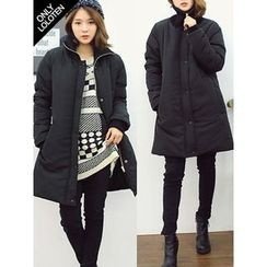 LOLOten - Zip-Neck Padded Coat