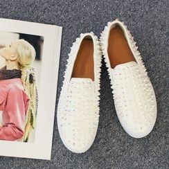 DANI LOVE - Studded Platform Slip-Ons