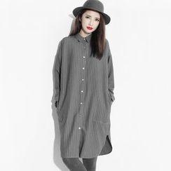 EFO - Pinstripe Shirtdress