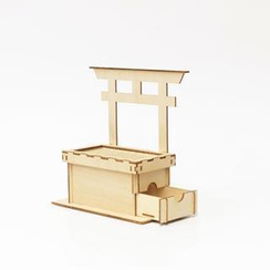 Team Green - Plywood Puzzle - Offertory Box Bank