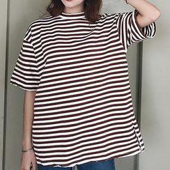 Cloud Nine - Stripe Short-Sleeve T-shirt