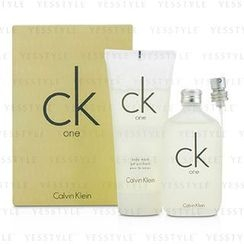 Calvin Klein 卡爾文克來恩 - CK One Coffret: Eau De Toilette Spray 50ml/1.7oz + Body Wash 100ml/3.4oz