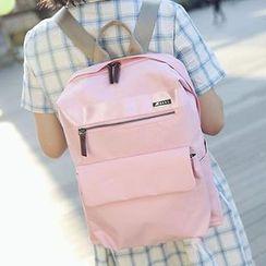 I.O.U - Plain Canvas Backpack