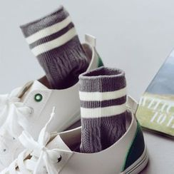 Fitight - Contrast-Stripe Socks