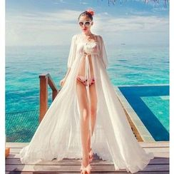 Jumei - Beach Chiffon Cover-Up