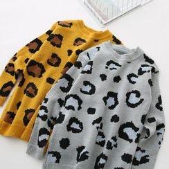 LEMONADE - Leopard-Pattern Sweater
