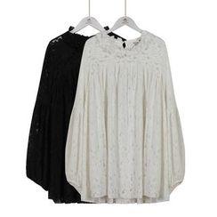 Momewear - 长袖蕾丝裙衣