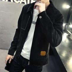 Mitouomo - Pocketed Jacket