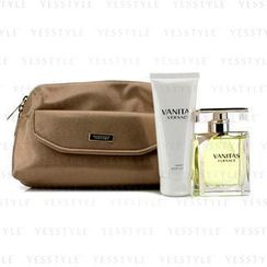 Versace 范思哲 - Vanitas Coffret: Eau De Toilette Spray 100ml/3.4oz + Body Lotion 100ml/3.4oz + Bag