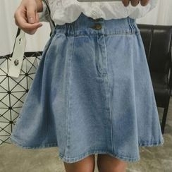 Dute - A-line Denim Skirt