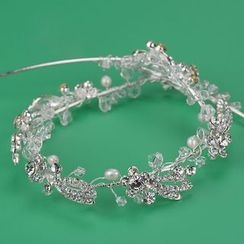 Ashmi - 新娘水鑽頭飾