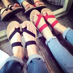 Fireon - Couple Matching Toe Loop Sandals