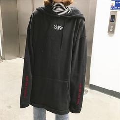 Eva Fashion - 做旧内加绒卫衣