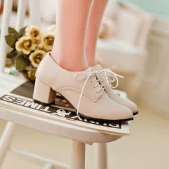 Pastel Pairs - Oxfords Pumps