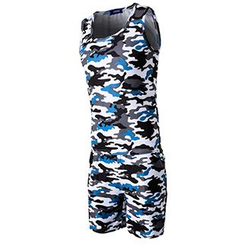 Fireon - Set: Camouflage Tank Top + Shorts