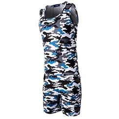 Fireon - 套裝: 迷彩背心 + 短褲