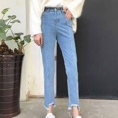 Rollis - Cropped Jeans