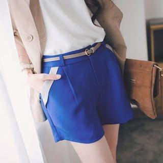 Tokyo Fashion - Elastic-Waist Satin-Trim Shorts