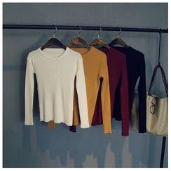 Glovon - Plain Knit Top
