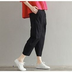 Fancy Show - Cropped Tapered Pants