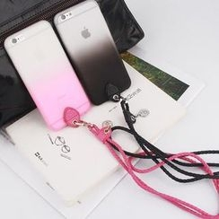 MILESI - iPhone 6 Silicone Transparent Case with Strap
