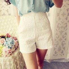 Cobblestone - Lace Shorts