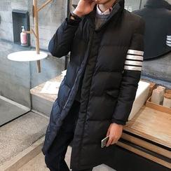 JORZ - Colour Block Hooded Padded Coat