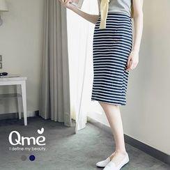 Tokyo Fashion - Striped Pencil Skirt