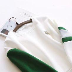 Bonbon - Embroidered Sweatshirt