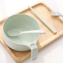 Class 302 - 5-Piece Set: Bowl + Cutlery
