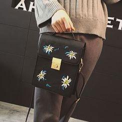 Secret Garden - Embroidered Crossbody Bag