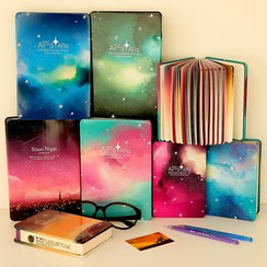 NANA STORE - Galaxy Print Notebook