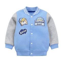 Ansel's - 童裝印花棒球外套