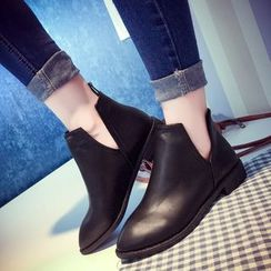 Laceuplux - Pointed Chelsea Boots