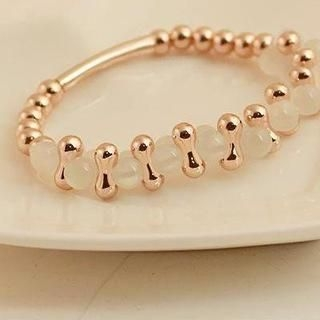 Love Generation - Moonstone & Bead Bracelet