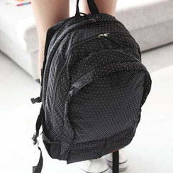 Mr.ace Homme - Dotted Nylon Backpack