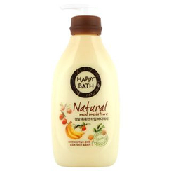 HAPPY BATH - Natural Real Moisture Body Wash 500ml