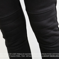 NANING9 - Brushed-Fleece Leggings