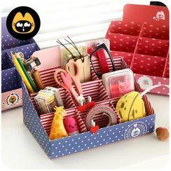 Cutie Bazaar - Pattern Paper Desk Organizer
