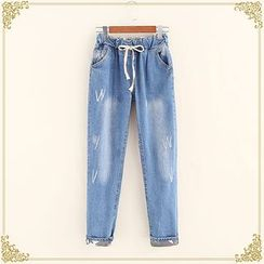 Fairyland - Drawstring Jeans